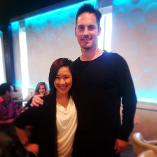Tristan MacManus and Steph Pham at Dance 3Sixty in OKC, OK.