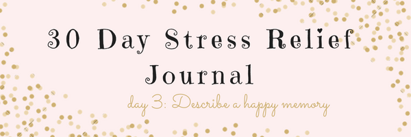 30 Day Stress Relief Journal – Day3